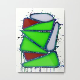 Green sail Metal Print