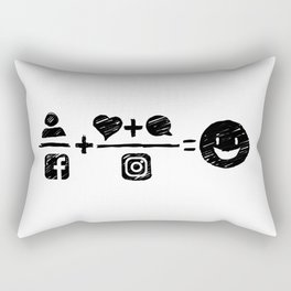Equations Rectangular Pillow