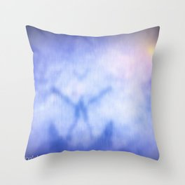 To Merge With Source Throw Pillow