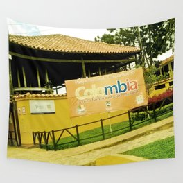 A park in my Colombia. Wall Tapestry