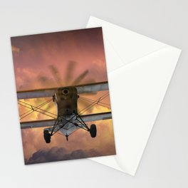 Loud Planes Fly Low Stationery Cards