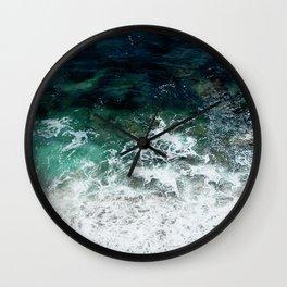 Pacific Ocean Colors Wall Clock
