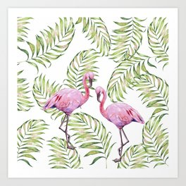 Flamingo  #society6 #buyart Art Print