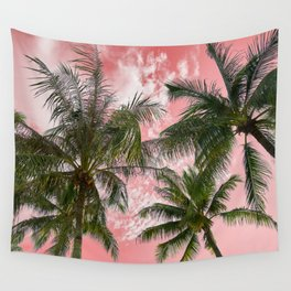Pink paradise Wall Tapestry