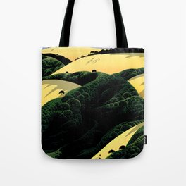 Ridge Trail View Tote Bag