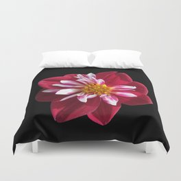 Think Flowers - Pretty in Red Duvet Cover