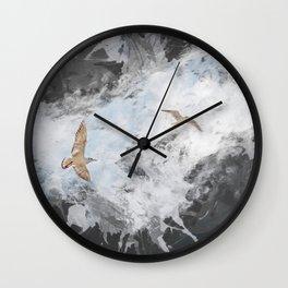 Two seagulls. Wall Clock