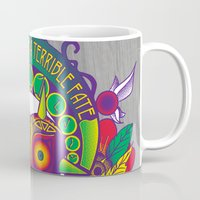 majora Mugs featuring Majora Nouveau by Mareve Design