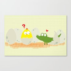 Brother?  Canvas Print