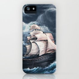 Facing the Bow iPhone Case