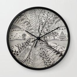 'Tangled Tree Wall Clock