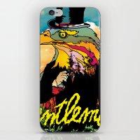 gentleman iPhone & iPod Skins featuring Gentleman by dogooder