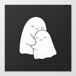 Ghost Hug - Soulmates Canvas Print