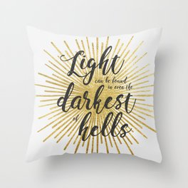 ACOWAR | Darkest of Hells Throw Pillow