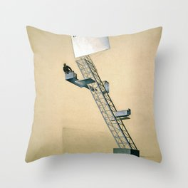 Lenin Tribune - El Lissitzky Throw Pillow
