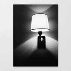 switch the light on Canvas Print