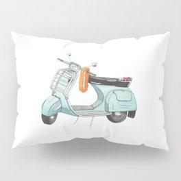 Watercolour   Bali Scooter Pillow Sham
