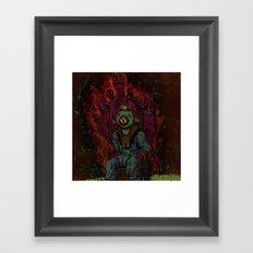 Murky Framed Art Print