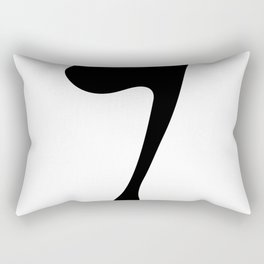 SIXTH ARABIC NUMBER Rectangular Pillow