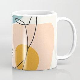 Abstract Face 25 Coffee Mug