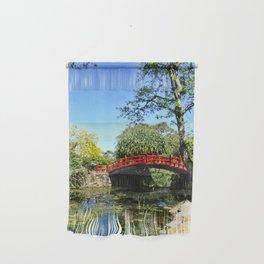 Red Bridge Wall Hanging