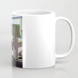 Beach Benches Coffee Mug