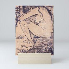 Vincent van Gogh - Sorrow (1882) Mini Art Print