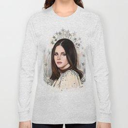 Lana Del Rey/Hedy Lamarr Long Sleeve T-shirt