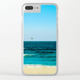 Fly with Me Clear iPhone Case