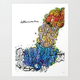 Cosmic Fishery Art Print