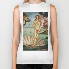 The Birth of Venus by Sandro Botticelli, 1445 Biker Tank