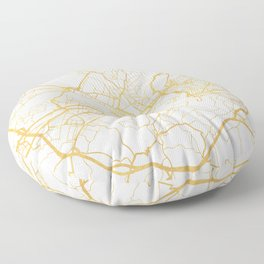 FLORENCE ITALY CITY STREET MAP ART Floor Pillow