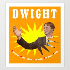 Dwight Schrute  |  The Office Art Print
