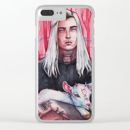 GHOSTEMANE Clear iPhone Case