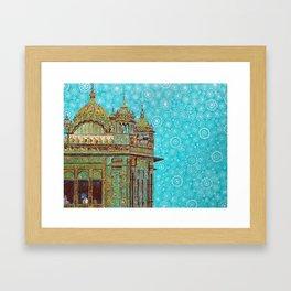 Harmandir Sahib Framed Art Print