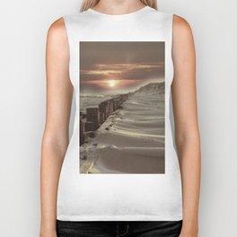 Fort Tilden Beach NYC sunset Biker Tank