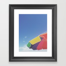 long island summer Framed Art Print