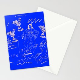 Life goes on Stationery Cards