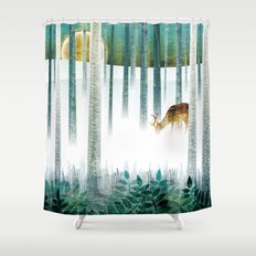 last morning (complete?) Shower Curtain
