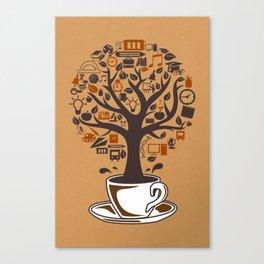 Coffee Tree Canvas Print