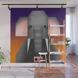 Geometrical Elephant Wall Mural