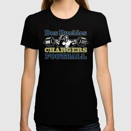 Dos Pueblos Chargers Football Fan T-shirt