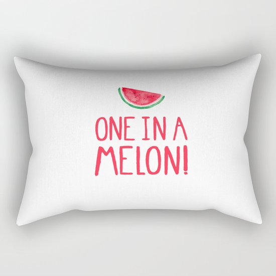 One In A Melon! Rectangular Pillow