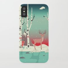 Forest Friends Slim Case iPhone X