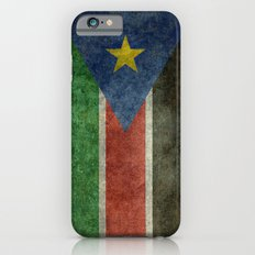 Republic of South Sudan national flag - Vintage version iPhone 6s Slim Case