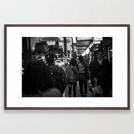 Live Free Die Strong Framed Art Print