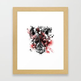 Harar Hyena Framed Art Print