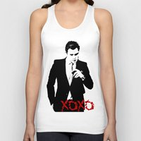 chuck Tank Tops featuring Chuck Bass by kingkyleramos