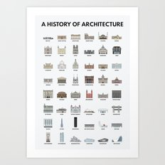 A HISTORY OF ARCHITECTURE Art Print