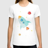 spaceship T-shirts featuring Spaceship by Marta Perego